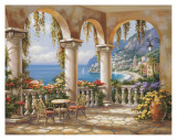 Terrace Arch I Prints by Sung Kim