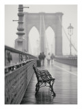 Lonely Bench Poster by Teo Tarras
