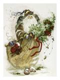 Jingle Bells Prints by Peggy Abrams