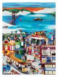 Hills of San Francisco Prints by Linnea Pergola