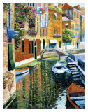 Romantic Canal Art by Howard Behrens