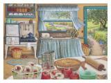 Cosecha de pastel de manzana Pósters por Janet Kruskamp