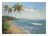 Palma de la Playa Print by Karen Dupré