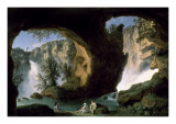 Italian Landscape with Bathers Posters by  Hackert