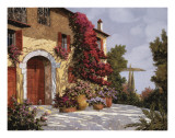 Bougainvillea Print by Guido Borelli