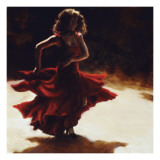 Spirit of Flamenco Art by Amanda Jackson
