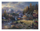 Mountain Hideaway Prints by James Lee