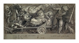 Dionysus and Putti Prints by Paolo Farinati