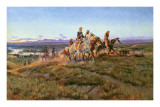 Men of the Open Range Posters by Charles Marion Russell