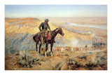 The Wagon Boss Plakater af Charles Marion Russell
