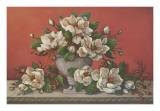 Classical Magnolia II Prints by Janet Kruskamp
