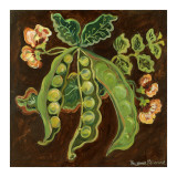 Peas Print by Suzanne Etienne