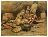 Keeoma Prints by Charles Marion Russell