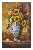 Tuscan Sunflowers Posters