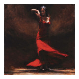 Passion of Flamenco Psters por Amanda Jackson