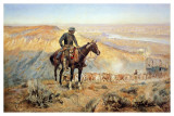 The Wagon Boss Print by Charles Marion Russell
