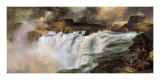 Shoshone Falls on the Snake River Posters by Thomas Moran