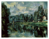 The Banks of Marne Posters by Paul Cézanne
