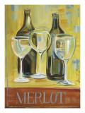 Merlot Prints by Jennifer Sosik