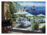 Terrace Capri Art by S. Sam Park