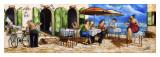 Monday Morning at Cafe da Vinci Plakater af Ronald West