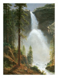 Nevada Falls Posters by Albert Bierstadt