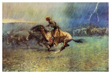The Stampede Posters by Frederic Sackrider Remington