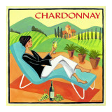 Chardonnay Posters by Jennifer Brinley