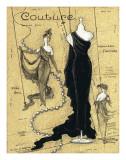 Couture II Print by Janet Kruskamp