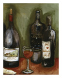 Wine Still Life II Poster by Nicole Etienne