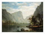 Mirror Lake, Yosemite Valley Prints by Albert Bierstadt