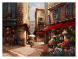 Flower Market Lane Prints by Han Chang