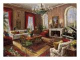 Classic Salon I Prints by  Foxwell