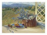 Lavender Basket Posters par Ruth Baderian