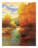 Amber Trees Prints by Kanayo Ede