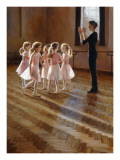 The Dance Class Posters by Amanda Jackson