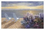 Deck View Prints by Diane Romanello