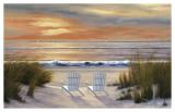 Anochecer en el paraíso Lámina por Diane Romanello