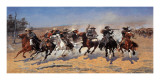 A Dash For Timber Art by Frederic Remington