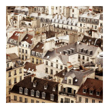 Paris Rooftops II Posters by Alicia Bock