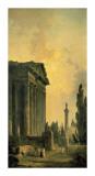 Temple Ruins Posters par Hubert Robert