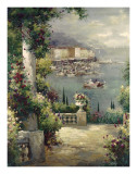 Capri Vista I Art by Peter Bell