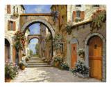 Le Porte Rosse Sulla Strada Posters by  Furtesen