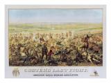 Le dernier combat de Custer Art par Edward Szmyd