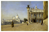 Morning in Venice Posters by Jean-Baptiste-Camille Corot