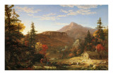 The Hunter's Return Posters by Thomas Cole