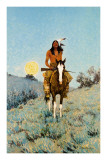 The Outlier Print by Frederic Sackrider Remington