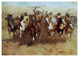 Victory Dance Print by Frederic Sackrider Remington