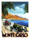 Monte-Carlo Posters par Chris Flanagan
