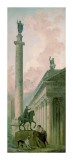 Roman Obelisk Prints by Hubert Robert